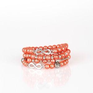 Orange bracelet paparazzi